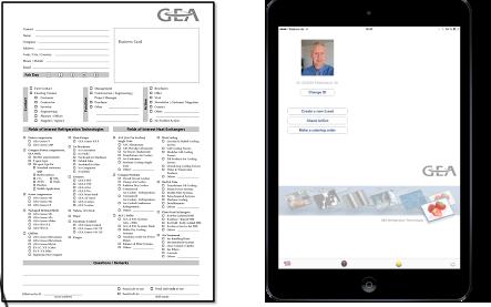Papier und iPad